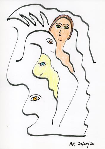 AndReaS KoVaR, Die Geschichte 08, People: Faces, Mythology, Symbolism