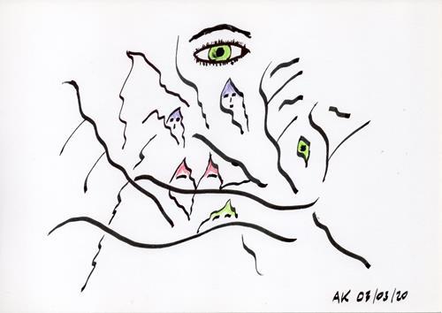 AndReaS KoVaR, Wissenschaft 04, People: Group, Burlesque, Symbolism