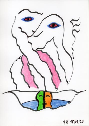 AndReaS KoVaR, Wissenschaft 08, Abstract art, Mythology, Symbolism