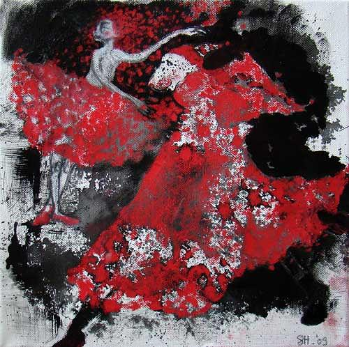 steffi huber, Roter Schnee, Movement, Fantasy, Expressionism
