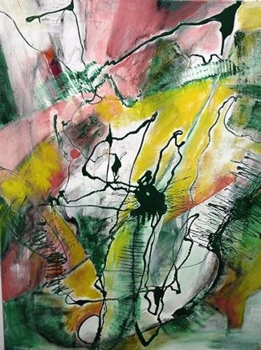 Gisela Günther, o.T, Abstract art, Miscellaneous, Contemporary Art