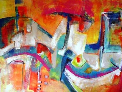 Gisela Günther, Graffiti, Abstract art, Miscellaneous, Contemporary Art