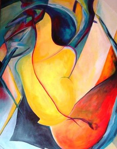 Gisela Günther, rothaarig, Miscellaneous, Abstract art, Contemporary Art