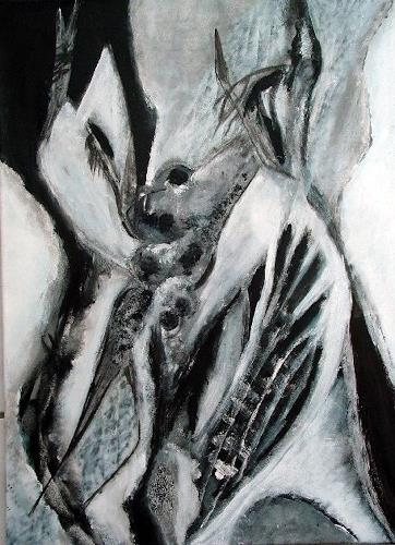 Gisela Günther, Hase, Abstract art, Fantasy, Contemporary Art