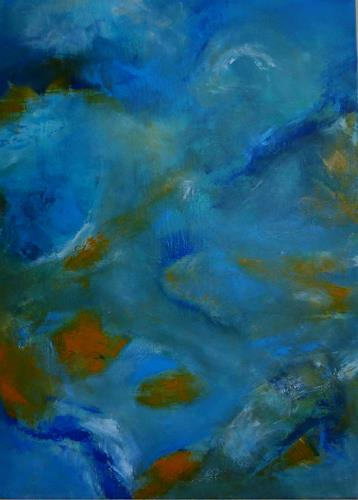 Gisela Günther, Himmel, Abstract art, Contemporary Art