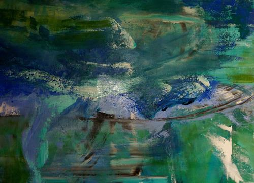Gisela Günther, o T, Abstract art, Contemporary Art