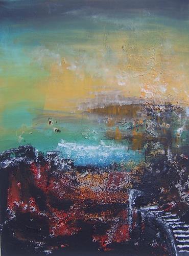mimik, Traum vergangener zeit, Abstract art, Landscapes: Spring, Land-Art