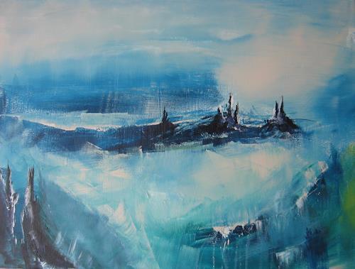 mimik, Klimawandel 2, Abstract art, Fantasy, Land-Art