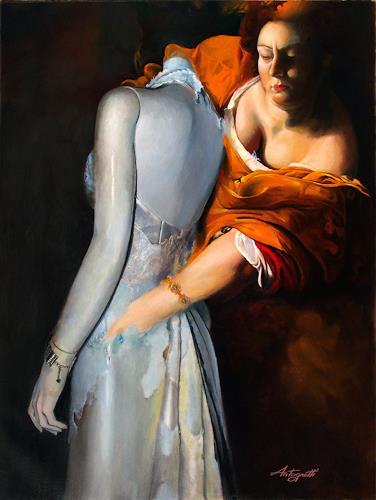 Lorenzo Antognetti, '' Trasformazione '' di  Lorenzo Antognetti, Symbol, Realism, Abstract Expressionism
