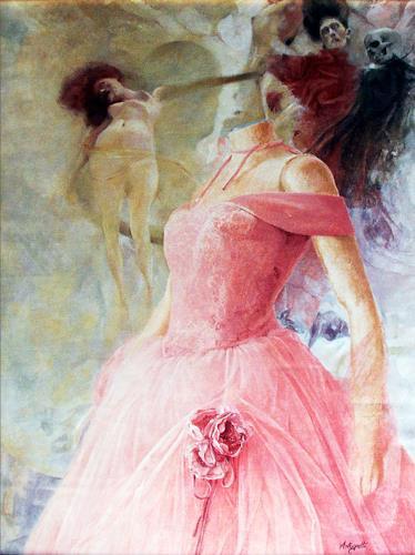Lorenzo Antognetti, '' Venere''   di Lorenzo Antognetti, Symbol, Realism, Abstract Expressionism