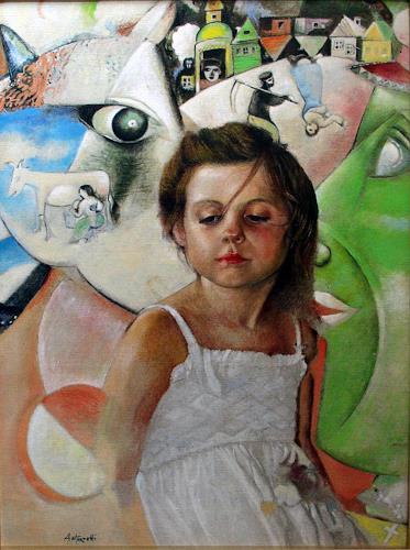 Lorenzo Antognetti, '' Nel sogno '' di Lorenzo Antognetti, Symbol, Realism, Expressionism