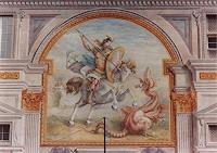 L. Antognetti, '' San Giorgio e il Drago '' realizzato da Lorenzo Antognetti