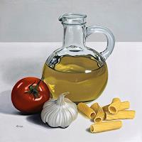 Kerstin-Arnold-Still-life-Meal-Modern-Times-Realism