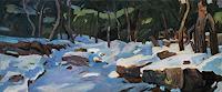 Franz Brandner, Schnee im Wald