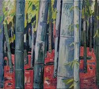 Franz-Brandner-Nature-Wood-Plants-Trees-Modern-Age-Expressionism-Fauvismus