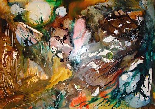 Ingeborg Schnöke, Im Eulengrund, Abstract art