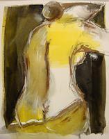 Ingeborg-Schnoeke-Erotic-motifs-Female-nudes-Modern-Age-Expressive-Realism