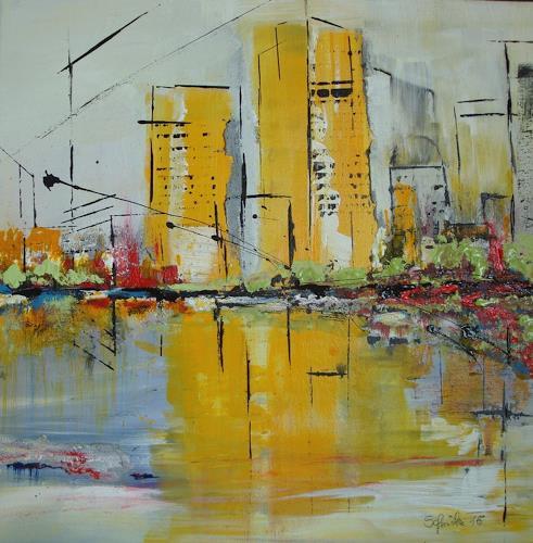 Ingeborg Schnöke, ich war noch niemals in New York ..., Buildings: Skyscrapers, Expressionism