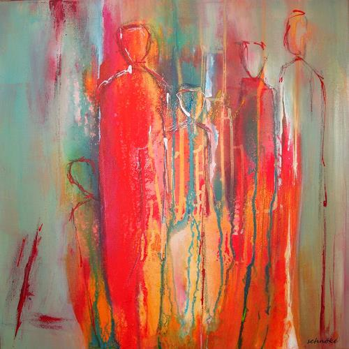 Ingeborg Schnöke, O.T., Miscellaneous People, Abstract Expressionism