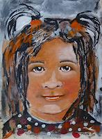 Ingeborg-Schnoeke-People-Children-Modern-Age-Abstract-Art