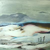Ingeborg-Schnoeke-Landscapes-Fantasy-Modern-Age-Abstract-Art