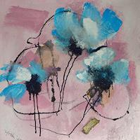 Ingeborg-Schnoeke-Plants-Flowers-Poetry-Modern-Age-Abstract-Art