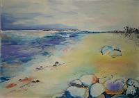 Ingeborg-Schnoeke-Landscapes-Sea-Ocean-Poetry-Modern-Age-Abstract-Art