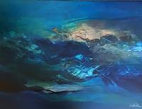 Ingeborg-Schnoeke-Nature-Water-Poetry-Modern-Age-Abstract-Art