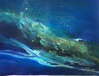 Ingeborg-Schnoeke-Nature-Miscellaneous-Poetry-Modern-Age-Abstract-Art