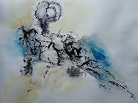 Ingeborg-Schnoeke-Abstract-art-Poetry-Modern-Age-Abstract-Art