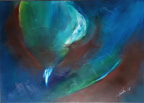 Ingeborg Schnöke, Überschwang, Abstract art, Poetry, Abstract Art, Abstract Expressionism