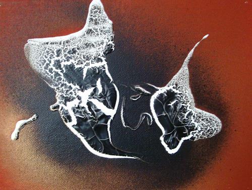 Ingeborg Schnöke, ich mag dich..., Burlesque, Abstract Art, Expressionism