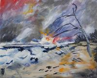 Ingeborg-Schnoeke-Landscapes-Fantasy-Modern-Age-Abstract-Art