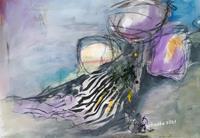 Ingeborg-Schnoeke-Fantasy-Poetry-Modern-Age-Abstract-Art