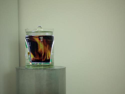 Ralf Kopp, elements 1 - conservation fire/water  - ralf kopp - www.ralfkopp.com, Nature: Fire, Nature: Water, Contemporary Art