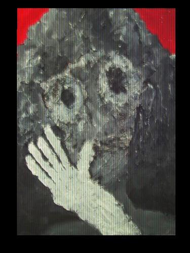 Despina Papadopoulou, -Stummer Schrei III-, Emotions: Horror, Symbolism