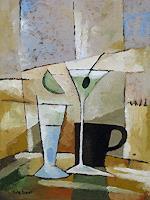 Lutz-Baar-Abstract-art-Still-life-Modern-Age-Cubism