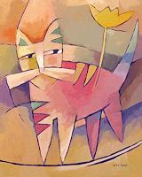 Lutz-Baar-Animals-Land-Decorative-Art-Modern-Age-Modern-Age