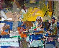 Heini-Andermatt-People-Couples-Situations-Contemporary-Art-Neo-Expressionism