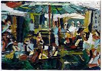 Heini-Andermatt-People-Parties-Celebrations-Modern-Age-Expressive-Realism