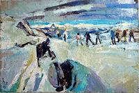 Heini-Andermatt-Landscapes-Mountains-Sports-Contemporary-Art-Neo-Expressionism