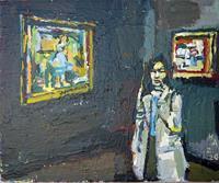 Heini Andermatt, Musée d'Orsay mit Pissarro