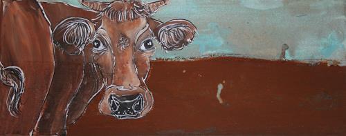 Regula Kummer, Kuh, Anneli, Animals: Land, Contemporary Art