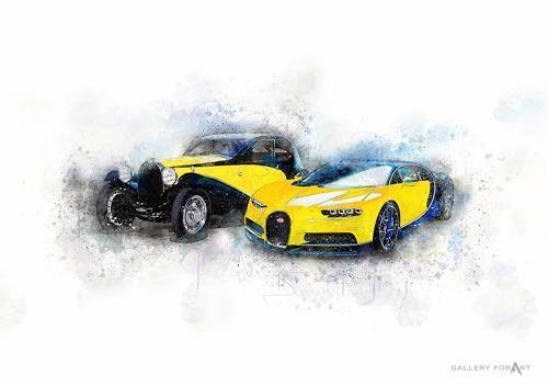 Artur Wasielewski, CARS CHANGE BUGATTI, Traffic: Car, Movement, Modern Age
