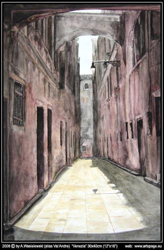 Artur Wasielewski, Venezia, Decorative Art, Architecture