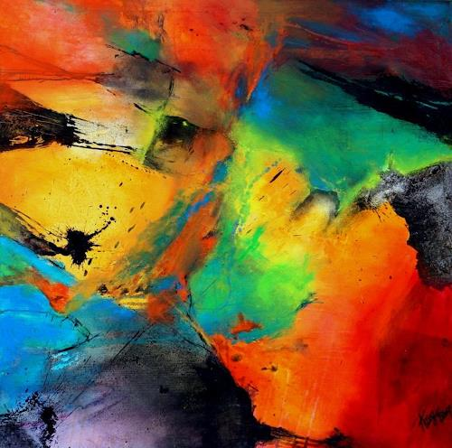 Heliotrop By Agnes Lang Abstract Art Abstract Art