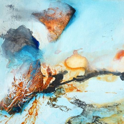Agnes Lang, kl.Farbimpressionen ll, Miscellaneous, Abstract art, Contemporary Art