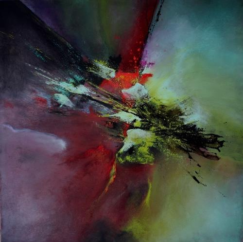 Agnes Lang, Malachit, Abstract art, Miscellaneous, Contemporary Art