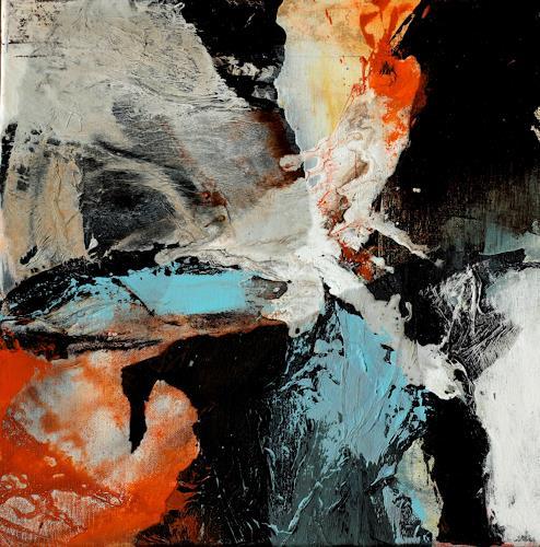 Agnes Lang, kleine Werke-Spiel mit Form und Farbe ll, Miscellaneous, Fantasy, Contemporary Art