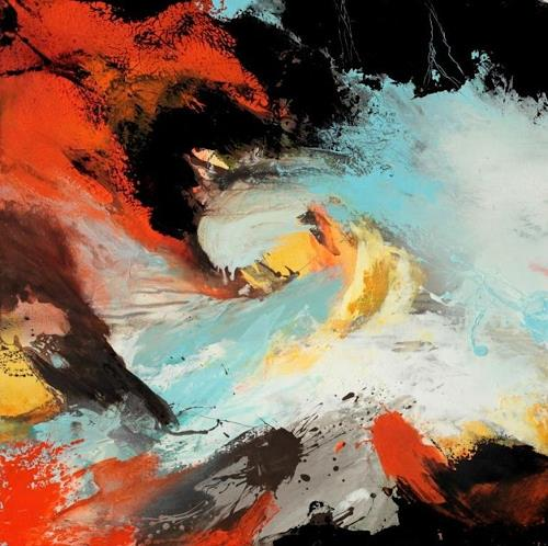 Agnes Lang Art Abstract art Fantasy Modern Age Abstract Art Non-Objectivism [Informel]